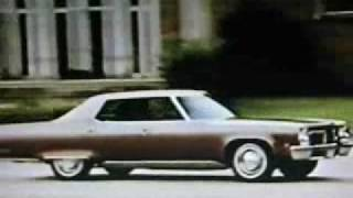 1972 Oldsmobile Delta 88 and 98 Commercials and Crash Test