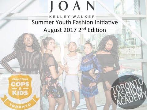 Joan Kelley Walker's Summer Fashion Youth Initiative 2017