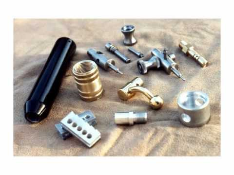 Custom Made Air Gun Components - Robert Lane Design  - YouTube