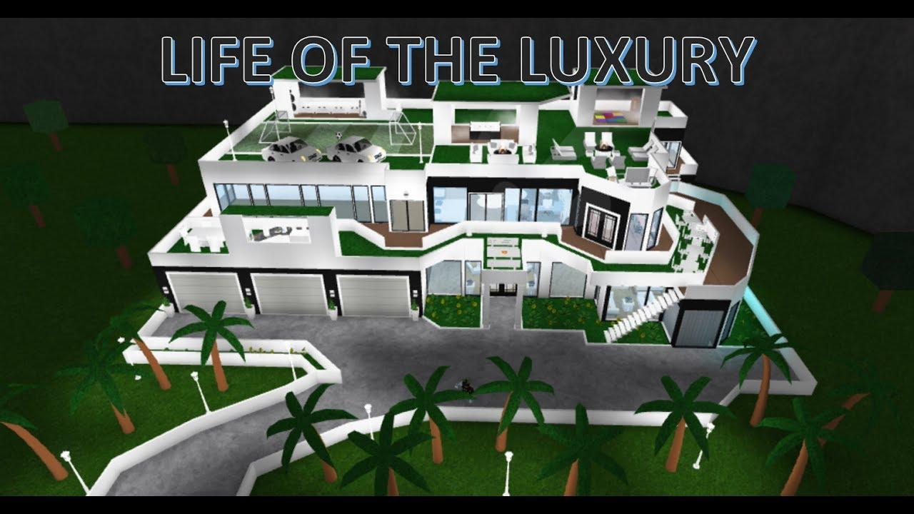 ROBLOXTour:The luxurious Mansion Bloxburg - YouTube