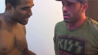 Joe Rogan gets Serious Ear Beating by BJJ Black Belt Renato Laranja