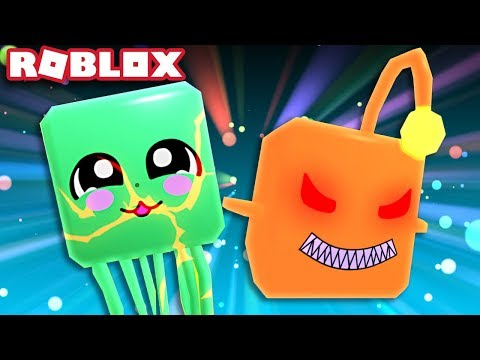 I GOT THE LEGENDARY ANGLER FISH PET AND JELLY FISH PET! Roblox Bubble Gum Simulator