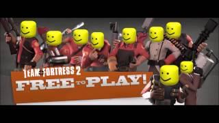 - Canción temática de Team Fortress 2 pero es el sonido de la muerte de Roblox -