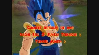 comment installer un mod sur dragon ball z budokai tenkaichi 3 avec dkz studio