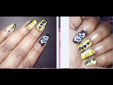 4 diy water marble nail art without water for beginnerswater 4 diy water marble nail art without water for beginnerswater marble nails step by stepbeautybeam prinsesfo Gallery