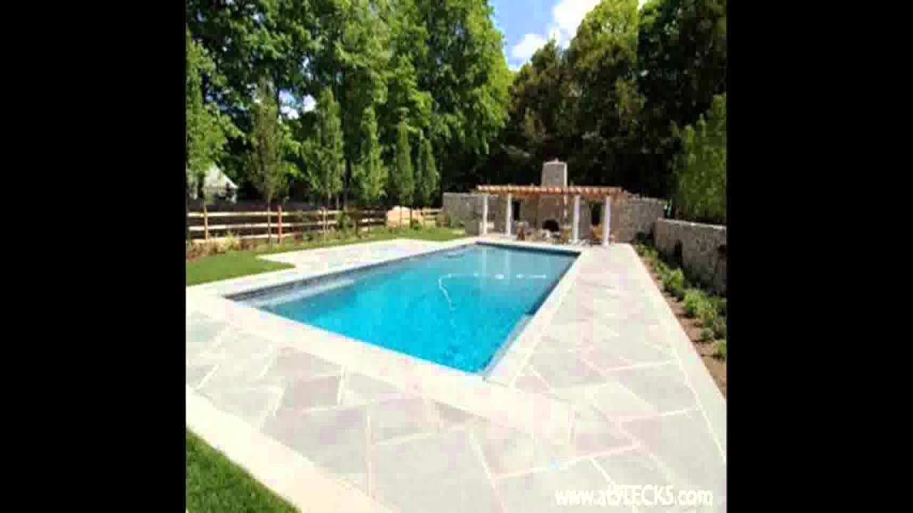 Concrete Pool Deck Ideas Youtube
