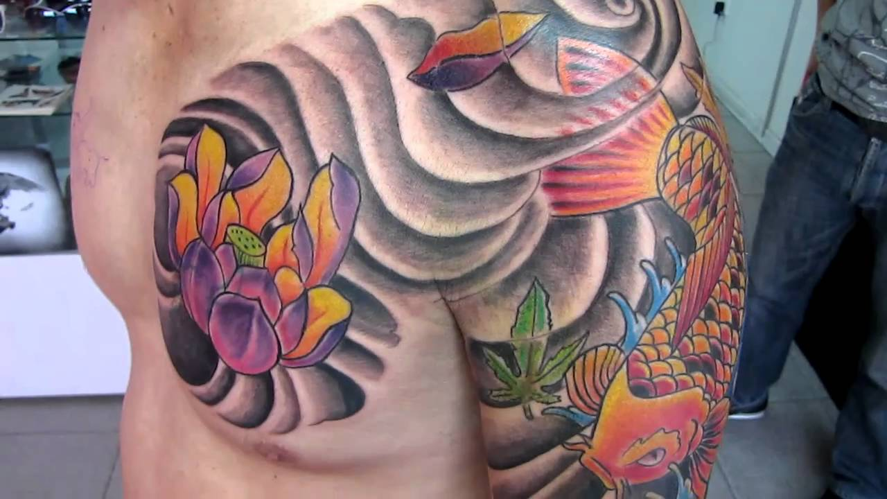 Tatuaje Koi Stunning Tatuaje Koi Cover Up Pupa Tattoo Granada By