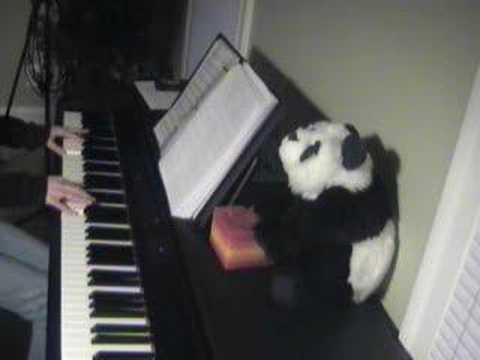 Never Alone on piano