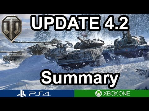 Update 4.2  Summary / Tier 10 Light Tanks / WoT Console