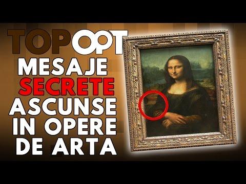 Mesaje secrete ascunse in opere de arta