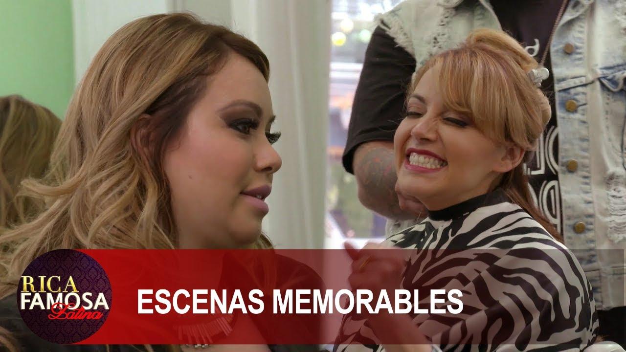 Las chicas visitan el salón de Chiquis Rivera  | Rica Famosa Latina | Temporada 1