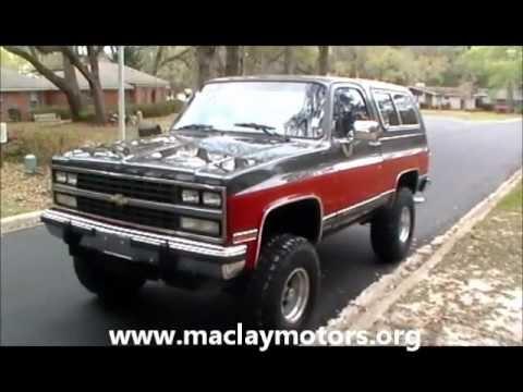Tallahassee Used Cars: 1991 Chevrolet Blazer Silverado at Maclay Motors