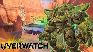 Overwatch | REINHARDT IN ATTACK MODE | Total Mayhem gameplay