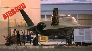 P&W F135 Engine Run