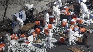 Boston Marathon Bombings: FBI Analyzing Cooker, Black Bag From Bomb Scene