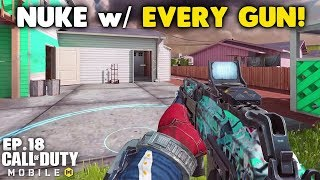Nuke with Every Gun in Call of Duty Mobile! - AK117 Assault Rifle