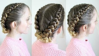 Dutch Braid Braided Updo | Braidsandstyles12