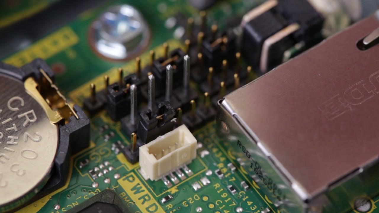 Dell EMC PowerEdge C6420: Reset BIOS Password via Jumpers