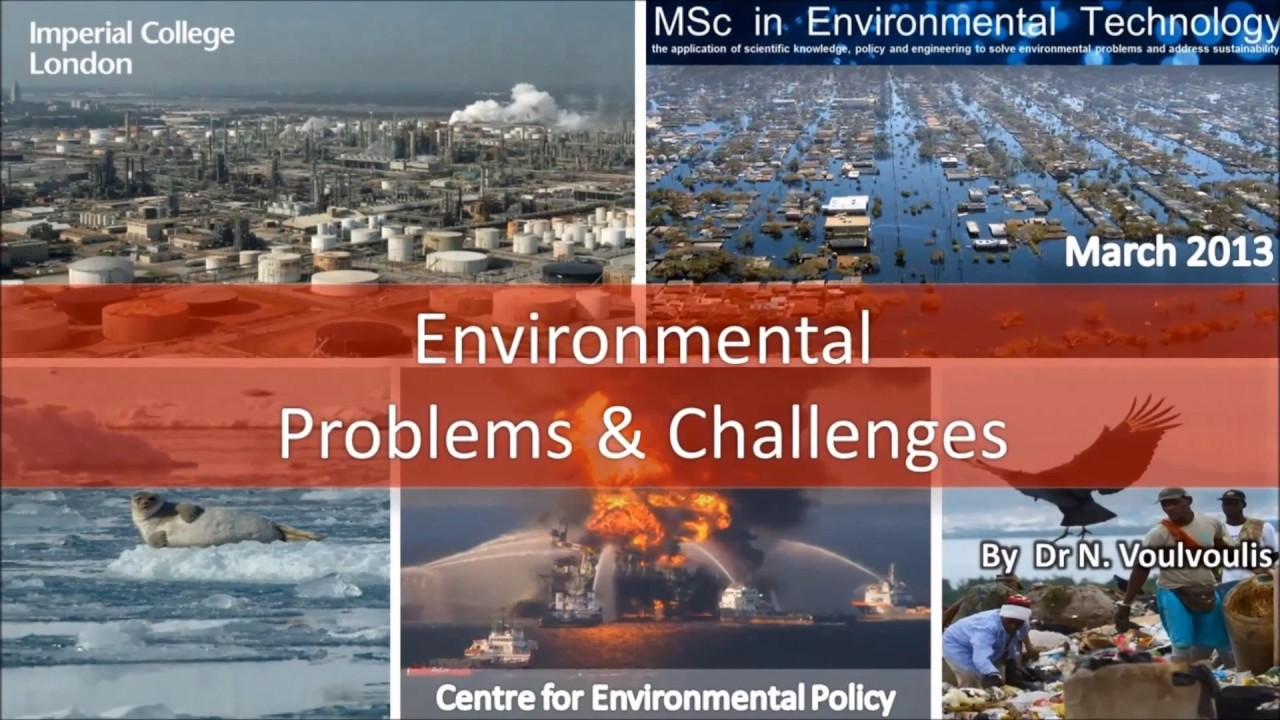 environmental issues and challenges Environmental issues and challenges  due to complexity of environmental issues & challenges in managing them, collaboration along with agencies and ministries should be strengthened especially in air & water pollution control and hazardous waste management & disposal.