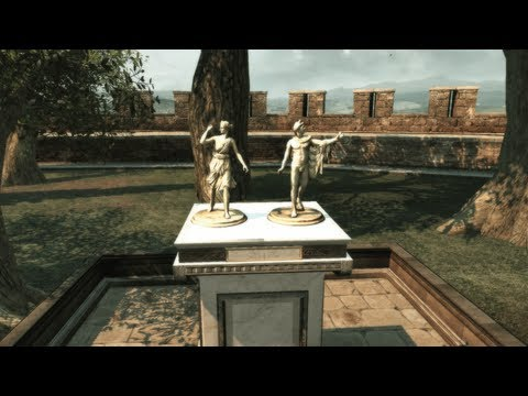 "All 8 statuettes locations in Monteriggioni (Villa), ""Assassin's Creed 2"""
