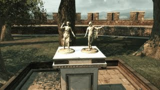 "All 8 statuettes locations in Monteriggioni (Villa), ""Assassin"