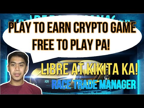 Play to earn na Free to play Crypto game | Trade Race Manager | Free pero kikita ka sa crypto na to!