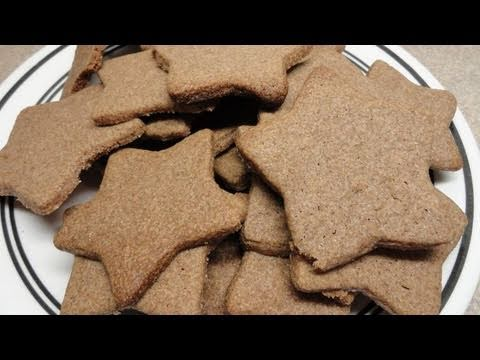 Cinnamon Snap Cookies - YouTube