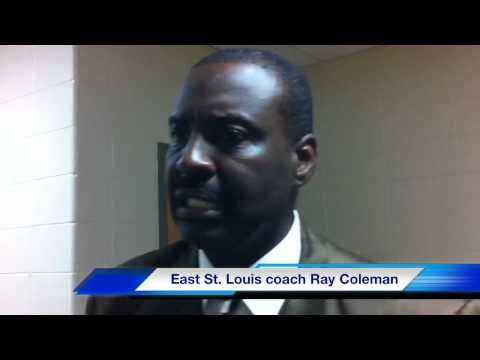 East St. Louis coach Ray Coleman