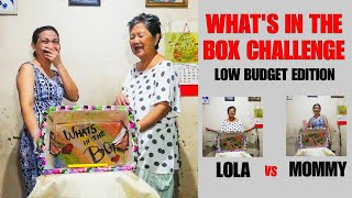 WHAT'S IN THE BOX CHALLENGE! (SOBRANG TAPANG NI LOLA)