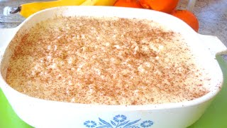 Creamy Creamed Rice Pudding Recipe