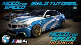 Need For Speed 2015 | No Limits Razor BMW M4 Build Tutorial | How To Make
