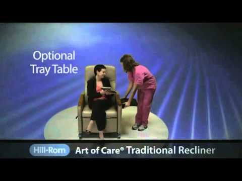 Hill-Rom | Healthcare Furniture | Art of Care® Traditional Recliner