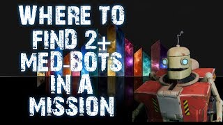 WHERE TO FIND 2+ MEDBOTS IN A MISSION QUEST FORTNITE SAVE THE WORLD