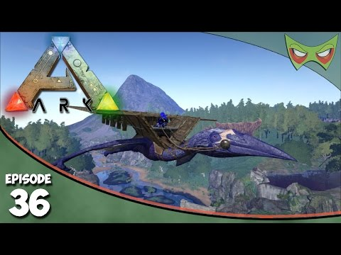 Ark Survival Evolved - S2 Ep 36 - Taming A Quetzalcoatlus! - Let's Play On Pooping Evolved