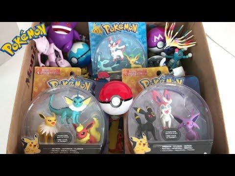 Pokemon merchandise Eevee evolutions