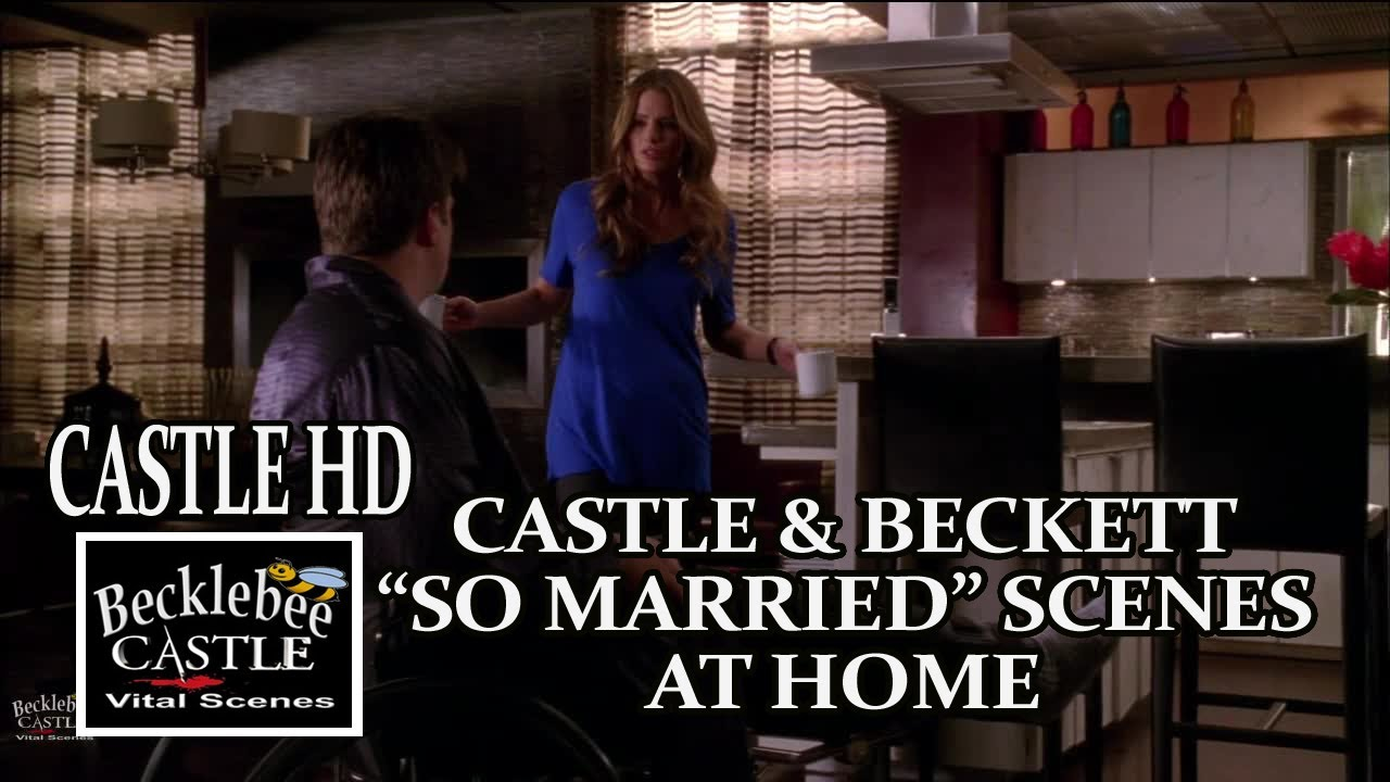 "Download Castle Season 5 ""So Married"" Scenes At Home Castle and Beckett Caskett Scenes HD"