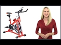 default - Xspec Foldable Stationary Upright Exercise Bike Cardio Workout Indoor Cycling