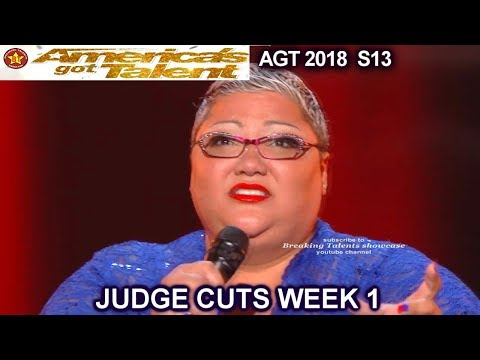 "Christina Wells FULL PERFORMANCE EMOTIONAL ""Never Enough"" America's Got Talent 2018 Judge Cuts 1 AGT"