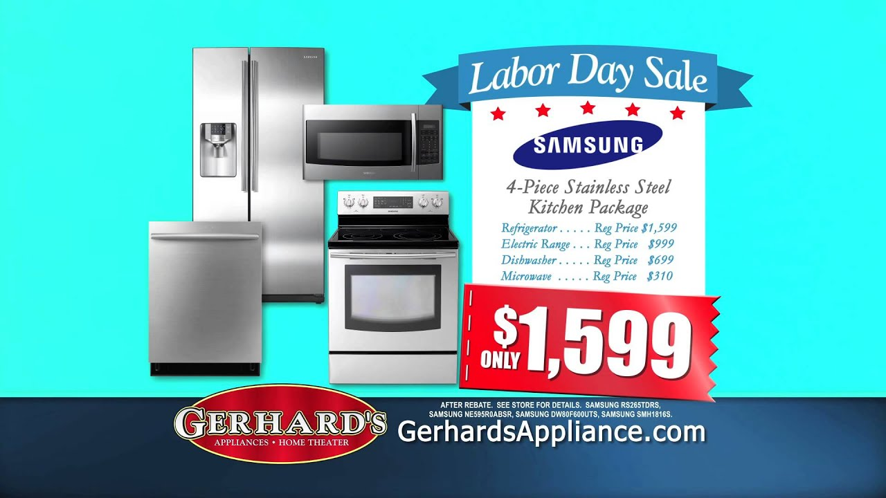 Gerhard\'s Appliance - Labor Day Sale - YouTube