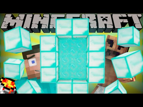 Thumbnail: If a Diamond Dimension was Added - Minecraft