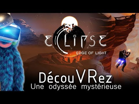 DécouVRez : ECLIPSE | Une Odyssée Mystérieuse | PSVR et PCVR | VR Singe