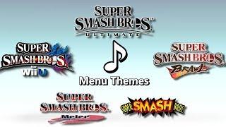 Evolution of Super Smash Bros. Character Menu Themes (1999-2018)