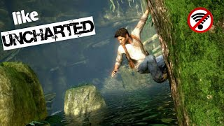 Gambar cover Top 7 Games Like UNCHARTED For Android OFFLINE (Download Links )