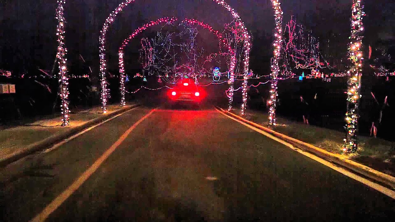 2014 Tillis Park Holiday Lights Winter Wonderland - YouTube