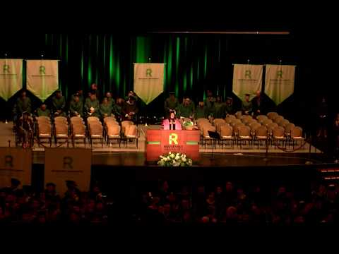 Roosevelt University Spring 2018 Commencement, Afternoon