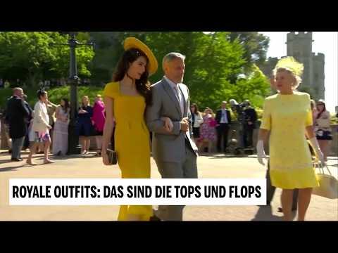 Royale Outfits: Tops und Flops bei der Hochzeit