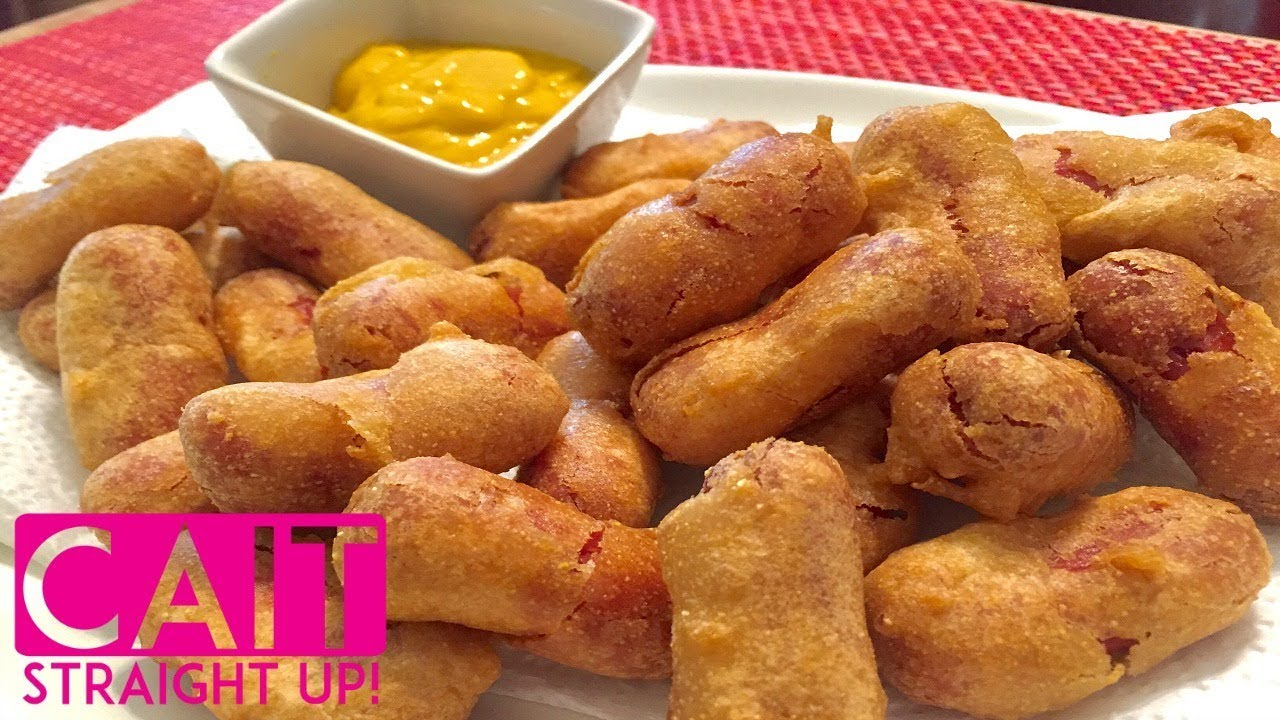 Mini corn dogs recipe made with pancake batter cait straight up mini corn dogs recipe made with pancake batter cait straight up ccuart Images