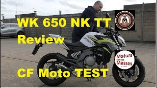 2019 CF Moto WK650NK TT Review