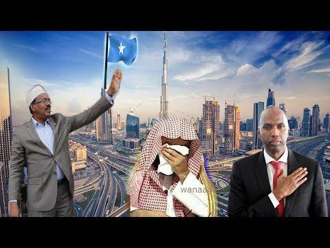 Sheikh caan ah oo ku Riyooday farmaajo iyo khayre oo somalia Barqaawo ka dhigay