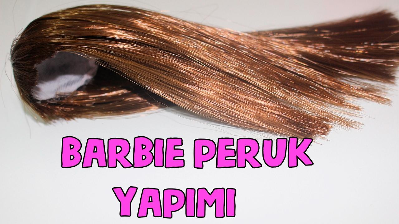 Barbie Bebeklere PERUK Nasıl Yapılır? İNANILMAZ Güzel Oldu! DIY - Bidünya Oyuncak